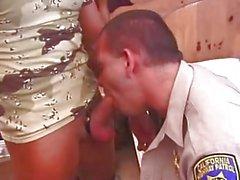 Smoking Police & Army