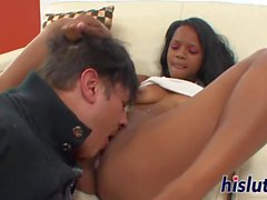 Monster cock for petite babe