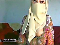 Busty Arabic Muslim Big Tits Wife On Webcam