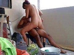 Desi nuori ja couple having hoteest sukupuolen parvekkeelle
