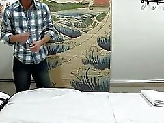 Man acquires double pleasure from massage and sex