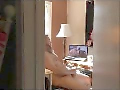 Caught Mature Watching Porn