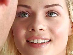 petite skinny pale blonde teen Elsa Jean