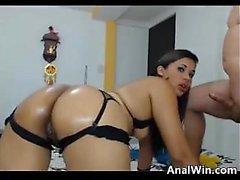 Sexy Latina Slut Wants To Be Anal Fucked