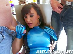 Jules Jordan - Lisa Ann MILF Super Goddess Gets DP'd