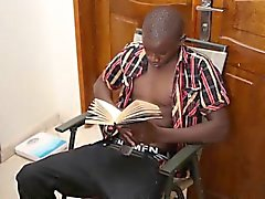 Siyah Afrikalı Twink George Kapalı Beats
