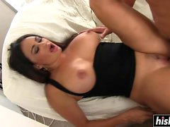 Hot milf takes a young shaft