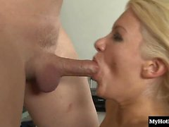 Laela Pryce is one blonde whore with a beautiful face,...