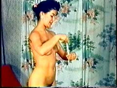 Weinlese-Braut Sharons Strip ( Camaster )