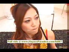 Kirara Аска китайской модели имеется гидромассажная сексуальный зад ей хвастается