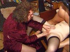 Kinky Orgía anal austríaca