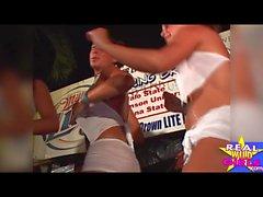 Çıplak Islak Pussy Yarışması Key West Spring Break Pt1