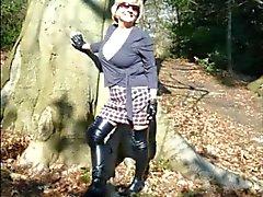 Бабуля Head # 38 Обмана с ее сотрудник в лесу