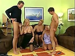 Group sex with MILFs - 2