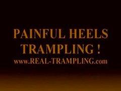 Painful heels trampling !