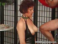Old mature slut likes punishing during part6
