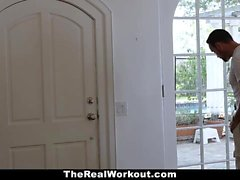 TheRealWorkout Horny Neighbor Get Fucked After Meditation