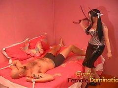 Smoking hot minx with big naturals pleasures her horny man