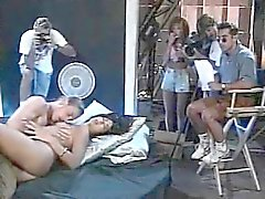 Leena, Asia Carrera, Tom Byron in vintage sex clip