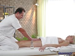 Massage Rooms Girl with big natural boobs