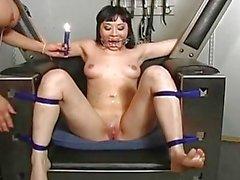Extreme Bondage Training For Nyssa Never...