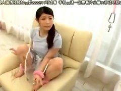 Amateur Japanese Cute MILF Bj and Cum Swallow