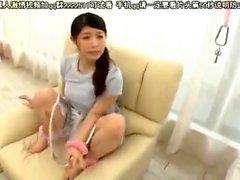 Amateur Japanese Cute MILF Bj and Cum Swallow