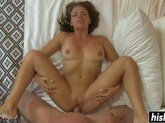 Kinky Kayla satisfies a handsome friend