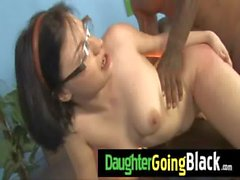 New Black Stepdad Punishes Hot daughter for being late 29