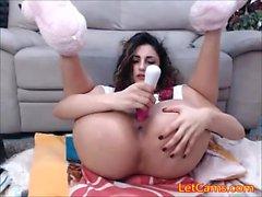 Horny webcam girl orgasm liveshow
