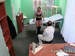 Pregnant patient fucked by doctor in fake hospital