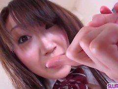 Extreme POV porn scenes with busty Shizuku Morino