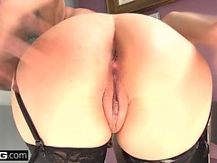 BANG Gonzo Nina North all natural beauty who loves cock