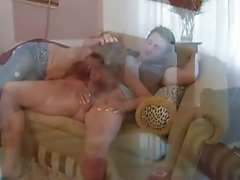 Hot Redhead Mature Seduces Her Daughter's Boyfriend