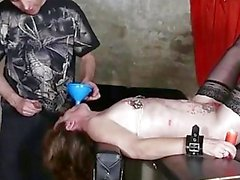 Bdsm Session In The Dungeon With...