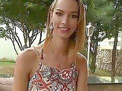 Tranny Viviane Merillo ass rammed hard