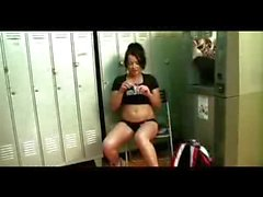 Squirting in the Locker Room