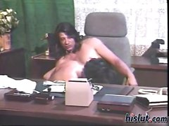 This secretary wants sex