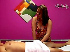 Masseuse Laci Hurst Gets Paid To Suck Client Off