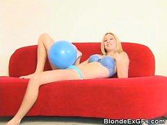 Allie Fun Times With A Balloon