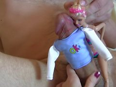 Funny idea from BJ Queen Sylvia Chrystall.Cockboy&Barbie. The Lone Rider I.