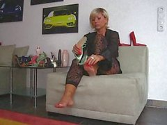 Mistress Lady Barbaras Feet Fetish