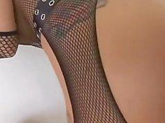 Joslyn James fills Lex Steele's Big Cock in her ass