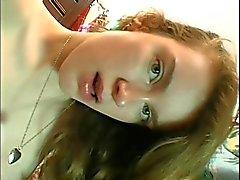 Jennifer Vale - Sexy Coed Gets Sticky Creampie Surprise