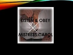 Mistress Carol, you Will Obey Remastered