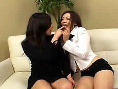 Provocative Oriental babe takes a throbbing cock deep down