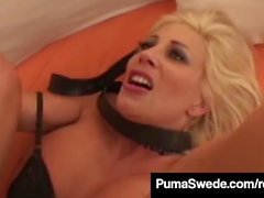 Puma Swede Slapped Fucked In The Mouth & Banged Really Hard!