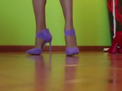 Tacchi e calze che passione