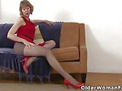 American moms in pantyhose part 5