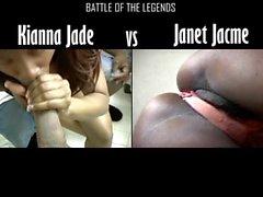 Janet Jacme Rakip boyunca Kianna Yeşim